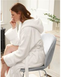 The White Company - Unisex Hydrocotton Hooded Robe - Lyst