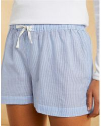 The White Company - Cotton Stripe Shorts - Lyst