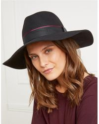 The White Company - Christy's Wool Wide Fedora Hat - Lyst