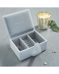 The White Company - Leather Travel Jewelry Box - Lyst