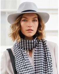 The White Company - Christys' Wool Felt Fedora Hat - Lyst