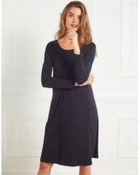 The White Company - Swing Dress With Sparkle Buttons - Lyst