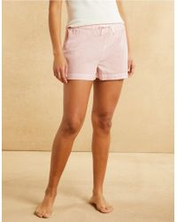 The White Company - Cotton Stripe Pyjama Shorts - Lyst
