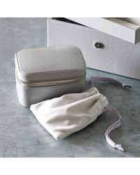 The White Company - Leather Trinket & Cufflink Box - Lyst