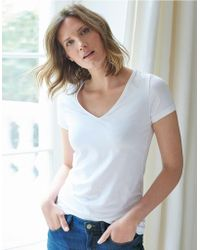 The White Company - Essential Short Sleeve T-shirt - Lyst