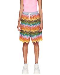 Ashish - Beaded Bermuda Shorts - Lyst