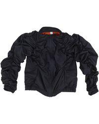 FANTABODY - Ruched Track Jacket - Lyst