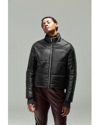VEDA - Sharpe Shantung Puffer Coat With Hood - Lyst