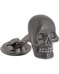 Thomas Pink - 3d Skull Cufflinks - Lyst