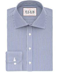 Thomas Pink - Ferguson Stripe Classic Fit Button Cuff - Lyst