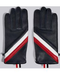 Thom Browne - Quilted Deerskin Leather Glove - Lyst