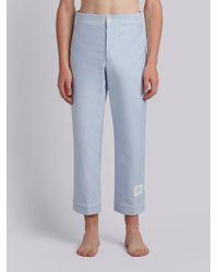 Thom Browne - Oxford Pyjama Pant - Lyst