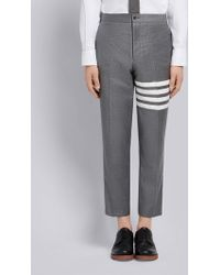 Thom Browne - 4-bar Slanted Pocket Chino - Lyst