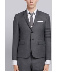 Thom Browne - 4-bar High-armhole Sport Coat - Lyst