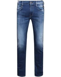 Replay - Surf Edition Slim Fit Jeans Blue - Lyst