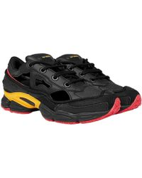 Raf Simons - Adidas X Replicant Ozweego Trainers Black And Yellow - Lyst