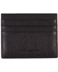 Emporio Armani - Imprinted Card Holder Black - Lyst