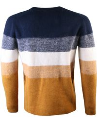 KENZO - Striped Wool Jumper Multi - Lyst