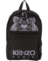 KENZO - Tiger Backpack Black - Lyst