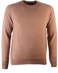 PS by Paul Smith - Crew Neck Jumper Tan - Lyst