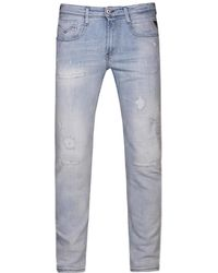 Replay - Anbass Slim Fit Jeans Blue - Lyst