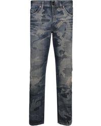 Diesel Black Gold - Type-2813 Pantaloni Slim Fit Jeans Blue - Lyst