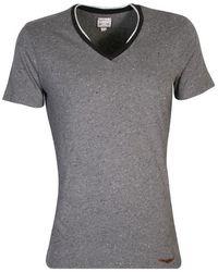 Y-3 - Diesel Grey T-oneself V-neck T-shirt - Lyst
