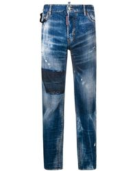 DSquared² - Buckle Cool Guy Jeans Blue - Lyst