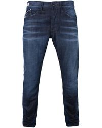 Replay - Blue Waitom Regular Fit Jeans - Lyst