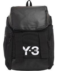 Y-3 - Y-3 Mobility Logo Backpack Black - Lyst