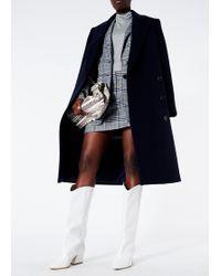 Tibi - Lucas Suiting Mini Trouser Skirt - Lyst