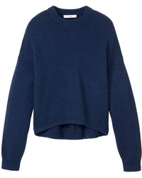 Tibi - Cashmere High Low Sculpted Pullover - Lyst