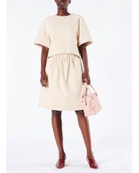 Tibi - Bond Stretch Knit Short Full Skirt - Lyst