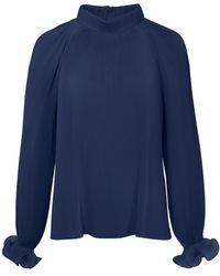 Tibi - Pleated Top - Lyst