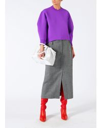 Tibi - Tech Poly Sculpted Sleeve Pullover - Lyst