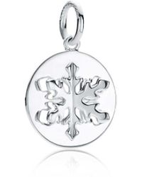 Tiffany & Co. - Tiffany Charms Snowflake Charm In Sterling Silver - Lyst