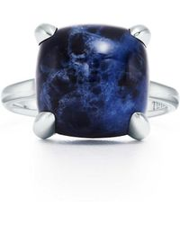 Tiffany & Co. - Ring In Sterling Silver With A Sodalite - 5 - Lyst
