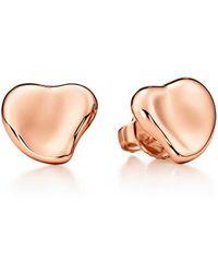 Tiffany & Co. - Full Heart Earrings - Lyst