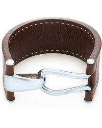 Tiffany & Co. - Knot Leather Bracelet - Lyst