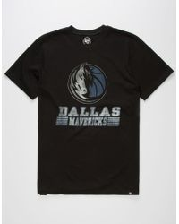 47 Brand - Dallas Mavericks Mens T-shirt - Lyst