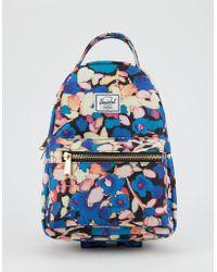 213629ed33 Herschel Supply Co. - Nova Painted Floral Mini Backpack - Lyst