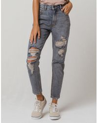 RVCA - Piper Womens Ripped Jeans - Lyst