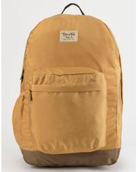 Brixton - Trail Ii Yellow Backpack - Lyst