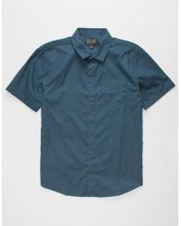 Retrofit - Poplin Mens Shirt - Lyst
