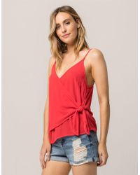 Others Follow - Wrap Womens Tank Top - Lyst