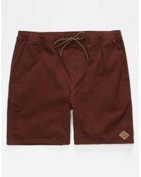HippyTree - Crag Rust Mens Shorts - Lyst