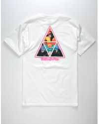 Huf - Good Trips Triangle Mens T-shirt - Lyst