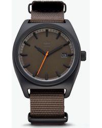 103e1e3a9033 Lyst - adidas 'adizero Basic Mid' Digital Watch in Black