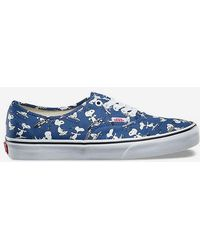 Vans - X Peanuts Snoopy Skating Authentic Shoes - Lyst