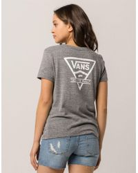 Vans - Vintage Side Womens Tee - Lyst
